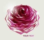 blom- abstrakt bakgrund Arkivbild