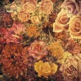 blom- abstrakt bakgrund Royaltyfri Fotografi