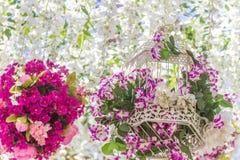 blom- abstrakt bakgrund Arkivbilder