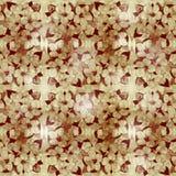 Blom- abstrakt bakgrund i skuggor av brunt Arkivbilder