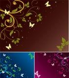 blom- abstrakt bakgrunder Arkivbild