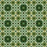 blom- abstrakt sömlös bakgrundsvektor Arkivbild