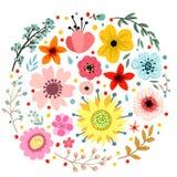 blom- abstrakt sammansättning Royaltyfri Foto