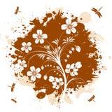 blom- abstraktion Arkivbilder