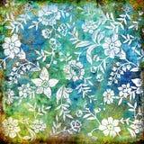Blom- abstraktion stock illustrationer