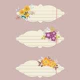Blom- anmärkningar för vektor Royaltyfria Foton