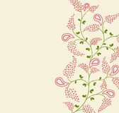 blom- backgrond Royaltyfri Bild