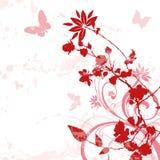 blom- bakgrund 01 Royaltyfria Bilder