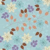 blom- bakgrund stock illustrationer