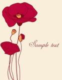 blom- bakgrund Royaltyfri Bild