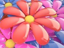 Blom- bakgrund, 3D Arkivbilder