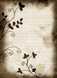 Blom- bakgrund för abstrakt valentin Royaltyfri Fotografi