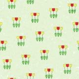 Blom- bakgrund - tulpan Arkivfoto