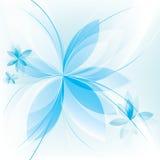 Blom- bakgrund, vektormall Arkivfoton