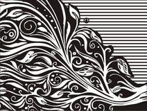 blom- bakgrundsdesign vektor illustrationer