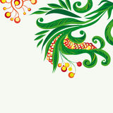 blom- bakgrundsfe royaltyfri illustrationer