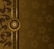blom- bakgrundskaffe Royaltyfri Bild
