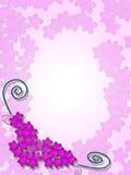 blom- bakgrundskanthörn Arkivfoto