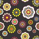 Blom- bakgrundsmodelldesign Arkivbilder