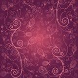 blom- bakgrundsskönhet royaltyfri illustrationer