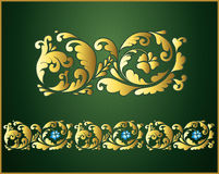 blom- banddesign Royaltyfria Foton