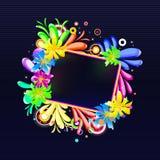 blom- baner Royaltyfri Foto