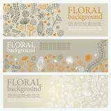 blom- baner vektor illustrationer