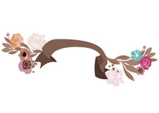 Blom- baner Royaltyfria Foton
