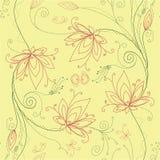 blom- blommalotusblomma för bakgrund Arkivbild