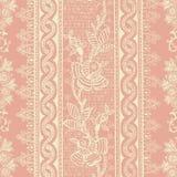 Blom- bohemisk bakgrund för antik tappning vektor illustrationer