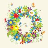 blom- bokstav för design