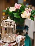 blom- bröllop för garnering Arkivfoto