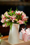 Blom- bröllophöjdpunkt Royaltyfria Foton