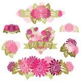 Blom- buketter Royaltyfri Fotografi