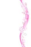 Blom- dekorativ beståndsdel vektor illustrationer