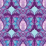 Blom- dekorativ modellbakgrund Royaltyfria Foton