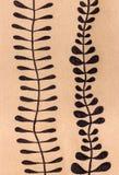 Blom- dekorativ teckning arkivfoto