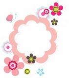 blom- design Arkivbild