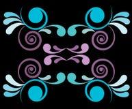 blom- design 2 royaltyfri illustrationer