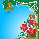 blom- design Fotografering för Bildbyråer