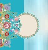 Blom- design Royaltyfri Fotografi