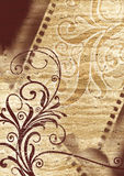 blom- design Royaltyfria Bilder