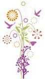 blom- design Arkivfoton