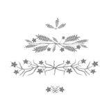 Blom- design - vektorillustration Arkivbild