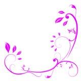 Blom- designbakgrund Royaltyfria Bilder