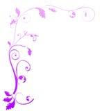 Blom- designbakgrund Royaltyfri Foto