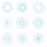 blom- element royaltyfri illustrationer