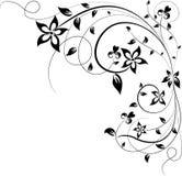 Blom- element för designen, vektor royaltyfri illustrationer