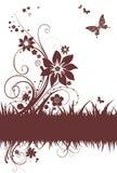 blom- enkelt för bakgrund vektor illustrationer