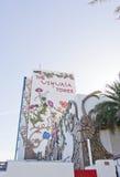Blom- fasad för Ushuaia hotell Royaltyfria Bilder